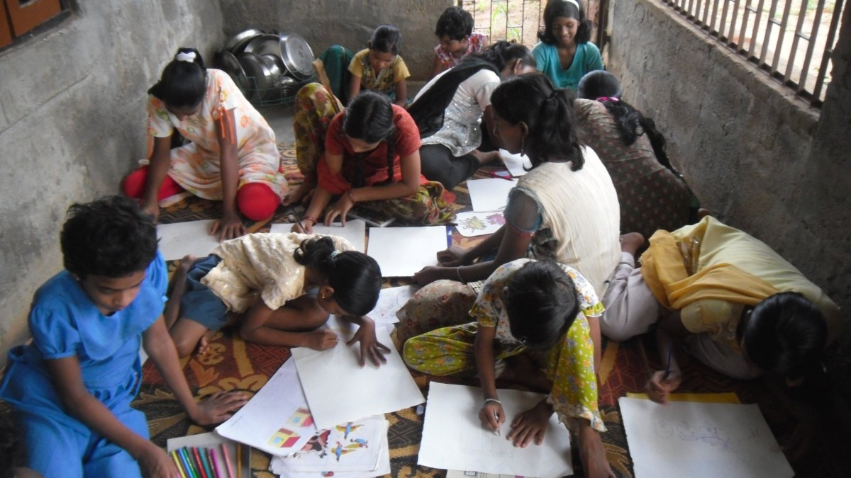 india coloring