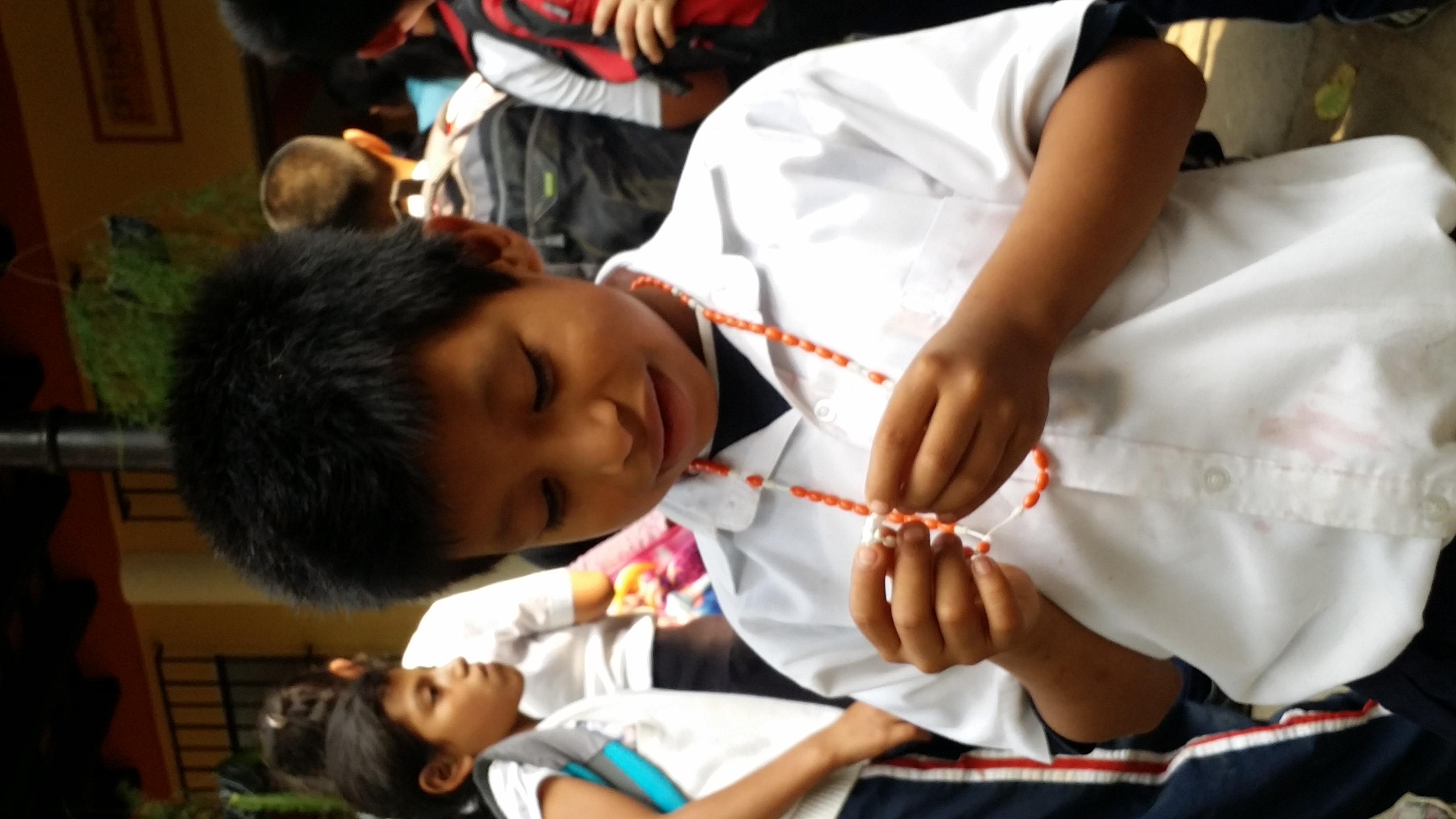 looking at rosary