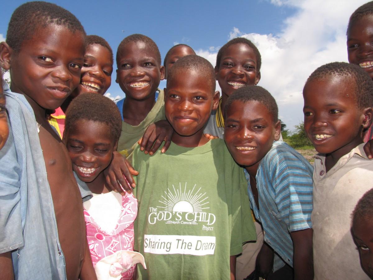 malawi africa smiling